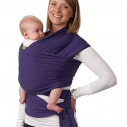 Fular Boba Wrap color Morado