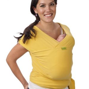 Fular Boba Wrap color Amarillo